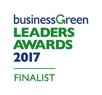 Business Green Leaders Awards 2017 finalist