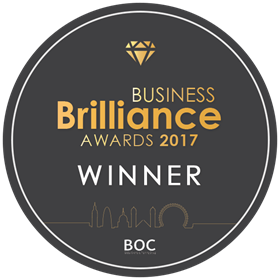 Business Brilliance Awards 2017 Winner