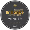 Business Brilliance Awards 2017 logo