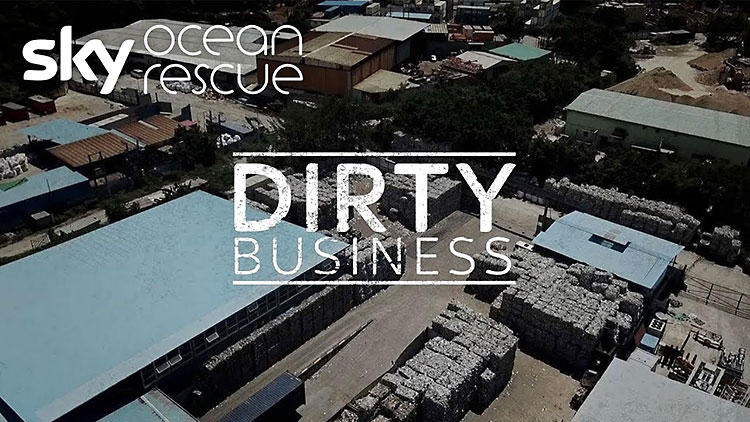 Sky Dirty Business of Recycling documentary