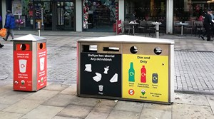 First on-street coffee cup recycling scheme in Wales goes live in Swansea